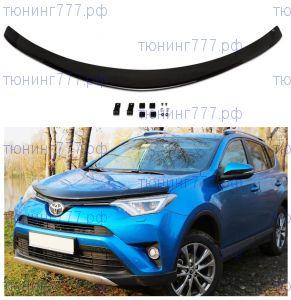 Дефлектор капота, Egr, темно-дымчатый, а/м с 11.2015-