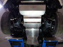 Защита днища, ТСС, (радиатора + картера + кпп + рк) алюминий 4мм