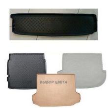 Коврик (поддон) в багажник, Unideс, полиуретан черный, 7 местн